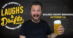 BOLERO SNORT BREWING •  Zane Lamprey's  Laughs & Drafts  • Carlstadt, NJ ,Carlstadt