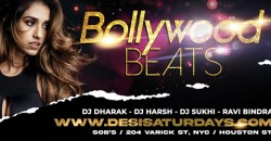 BOLLYWOOD BEATS :  Jan 15th - WEEKLY SATURDAY NIGHT DESIPARTY @ SOB's NYC ,New York