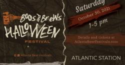Boos and Brews Halloween Festival ,Atlanta