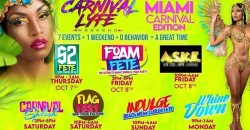 CARNIVALLYFE WEEKEND   7+ EVENTS   MIAMI CARNIVAL WEEKEND 2021 ,MIAMI