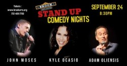 COMEDIANS KYLE OCASIO AND JOHN MOSES ,Bound Brook