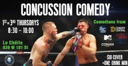 Concussion Comedy   Stand-up Comedy in Washington Heights ,New York