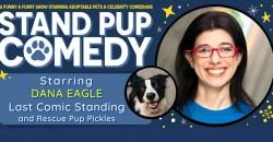 Dana Eagle Starring in Stand Pup Comedy Haddonfield ,Haddonfield