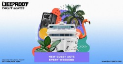 Deep Root & Zero Gravity Yacht Party   September 25th