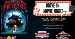 Drive In Movie Night ft. Monster House ,Monroe