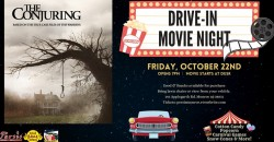 Drive In Movie Night ft. The Conjuring ,Monroe