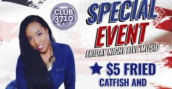 Free Event Friday Night Live Music - Club 3710 Band ft. Tia, Curlen Crump. ,Houston