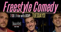 Freestyle Comedy at The Bowery Electric! EVERY TUESDAY @ 8PM ,New York