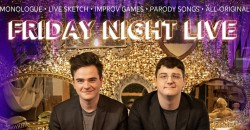 """Friday Night LIVE in the Roots :: Sketch + Improv Series with """"Take This"""" ,Dahlonega"""