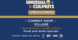 Half Price Tickets to Comedy Funday ,New York