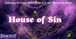 Halloween Party and Costume Contest at the Showboat Hotel , Atlantic City