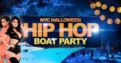 Hip Hop & R&B Halloween Party NYC: Massacre on Hudson Yacht Cruise ,New York
