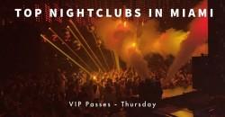 Hip Hop Thursdays - VIP Nightclub Pass - Miami Beach ,Miami Beach