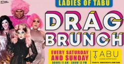 Ladies of Tabu Drag Brunch ,Philadelphia