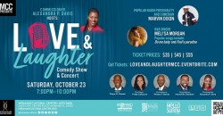 Love and  Laughter featuring Meli'sa Morgan and Marvin Dixon ,Miramar