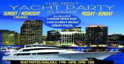 MIAMI ALL INCLUSIVE YACHT NIGHTCLUB PARTY ,Miami