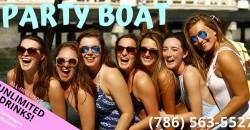 Miami Beach CRAZY BOAT PARTY! ,Miami
