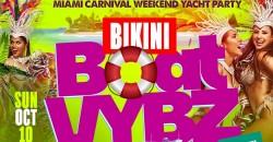 Miami Carnival Yacht Party #BikiniBoatVybz ,Miami