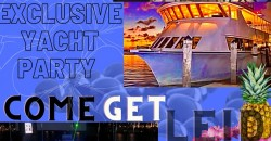 """Miami Exclusive Yacht Party """"Come Get Lei'd"""" ,Miami"""