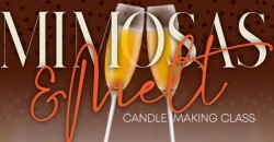 Mimosas & Melt Candle Making Class ,Woodbury