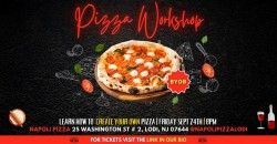 Napoli Pizza Workshop | Learn How To Create Your Own Pizza | BYOB ,Lodi