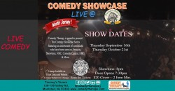 Northern Jersey Comedy Showcase Live @ Tierney's Tavern - Oct 21st, 8pm ,Montclair