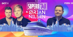 Scorchin' Records Presents SUPER8 & TAB & ORJAN NILSEN Boat Party NYC ,New York