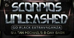 """SCORPIOS UNLEASHED """"GO BLACK"""" EXTRAVAGANZA AND COMEDY SHOW WEEKENDER ,Woodbridge Township"""