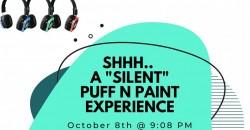 Shhh.. A Silent Puff n Paint Experience in Atlanta, GA ,Atlanta