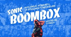 Sonicboombox NYCC 2021Afterparty ,New York