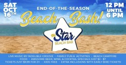 Star Beach Bar's End of the Season Beach Bash in Diamond Beach, NJ ,Wildwood Crest
