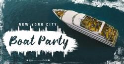 SUNSET BOOZE CRUISE Boat Party NYC: Mega Yacht Infinity