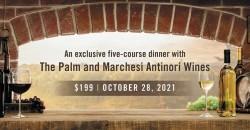The Palm Atlantic City - Antinori Wine Dinner ,Atlantic City