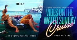THE VIBES ON THE WATER SUNDAY YACHT #GQevent #GROUP ,New York
