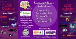 Vanilla Comedy Series @ Holiday Inn Clinton, NJ - October 9th 7:30 Show ,Clinton