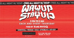 WAYUP Thursday's @ Freehold Miami ,Miami