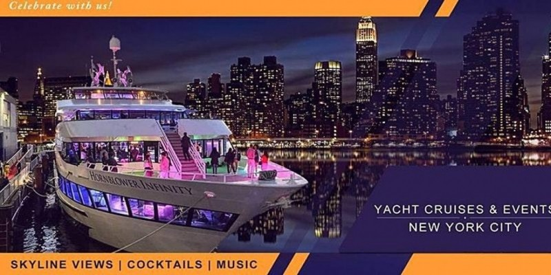 #1 INFINITY YACHT PARTY CRUISE NYC  Great Views  10/22 ,New York