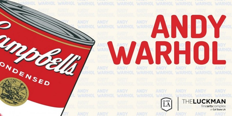 Andy Warhol at The Luckman Gallery ,Los Angeles