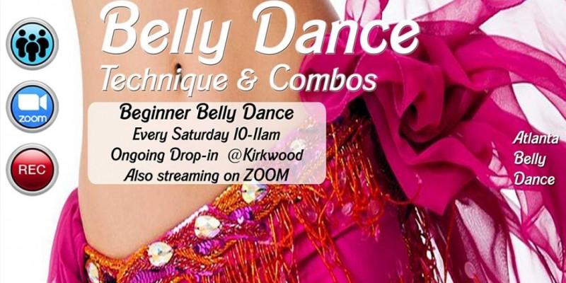 Beginner Belly Dance Technique & Combos ,Atlanta