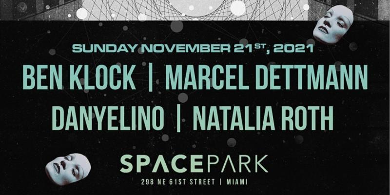 Ben Klock & Marcel Dettmann @ Space Park Miami ,Miami