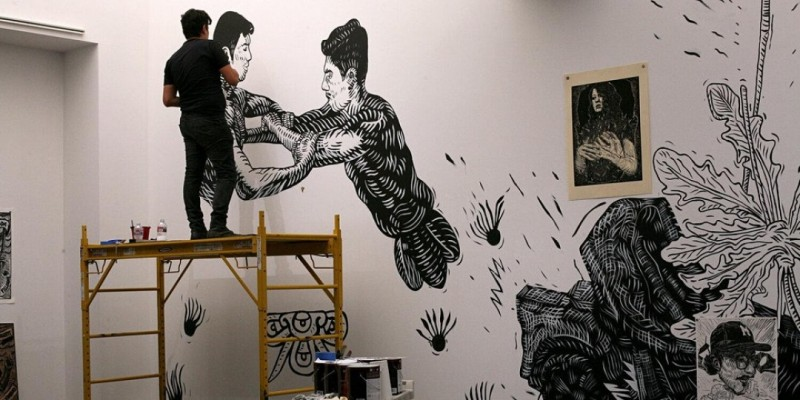 Beyond the Press: Open Studio with Pavel Acevedo (In-Person) ,Los Angeles