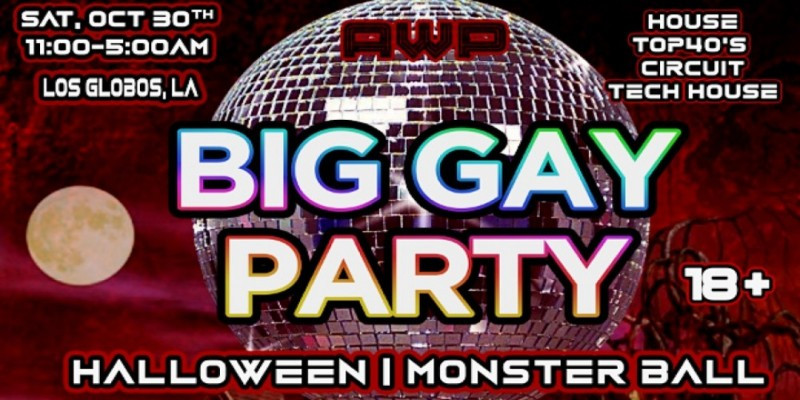 Big Gay Party: Halloween   Monster Ball ,Los Angeles