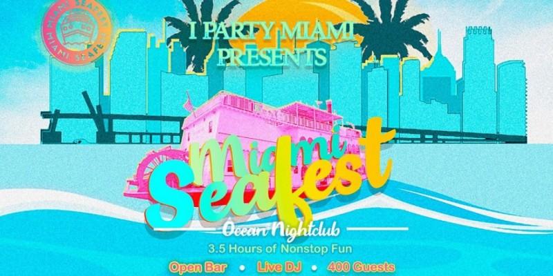 Boat Party + Open Bar ,Miami