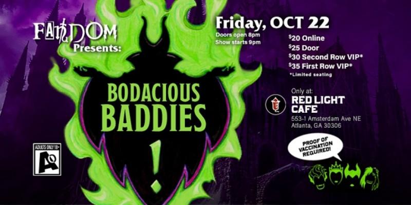 Bodacious Baddies: A Fandom Nerdlesque Tribute to Villains ,Atlanta