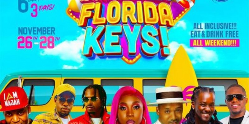 BRT Thanksgiving Weekend w/Live Performances by Spice, Super Cat, Govana and more at the Florida Keys
