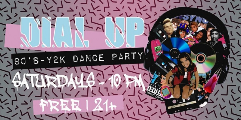 DIAL UP: 90s & Y2K Dance Party! ,Houston