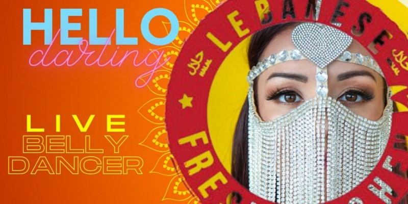 DINNER & BELLY DANCE SHOW - Saturday, October  23rd- 8pm ,Miami