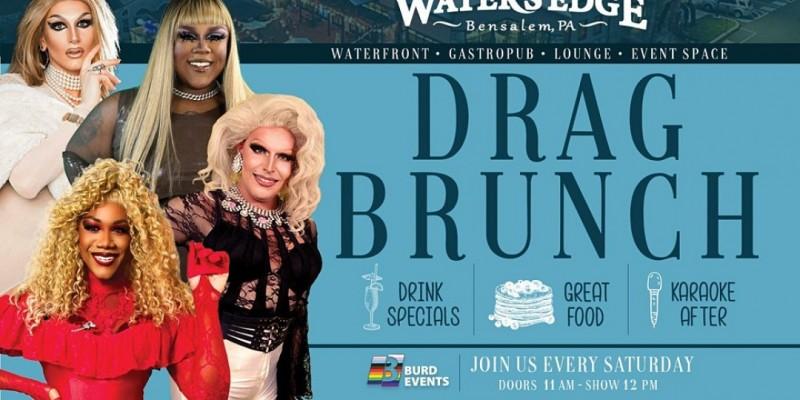 Drag Brunch at Water's Edge ,Bensalem