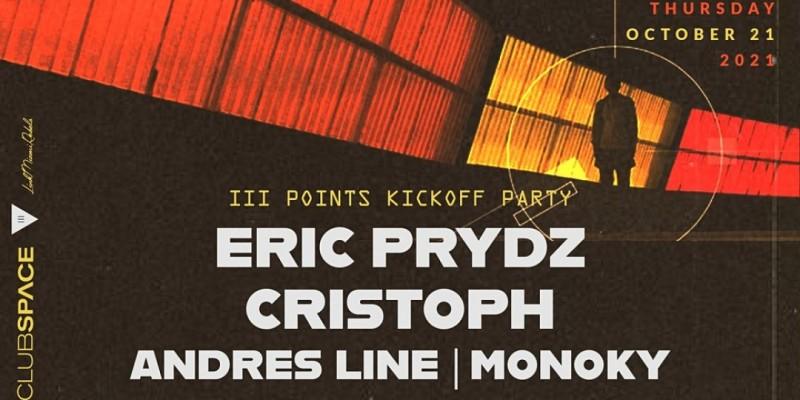 Eric Prydz & Cristoph @ Club Space Miami ,Miami