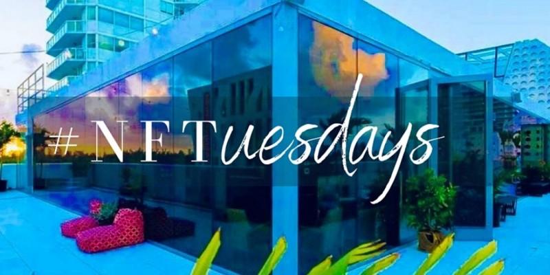 [FAENA BAZAAR ROOFTOP] #NFTuesdays at CSTM HAUS ,Miami Beach